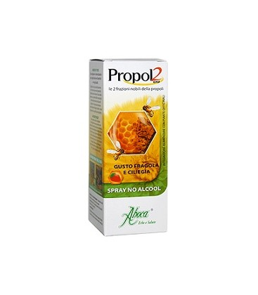 ABOCA PROPOL2 SPRAY NO ALCOOL FRAGOLA E CILIEGIA 30ml