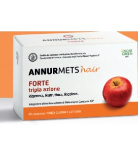 Annurmets Hair forte 500mg 60cpr